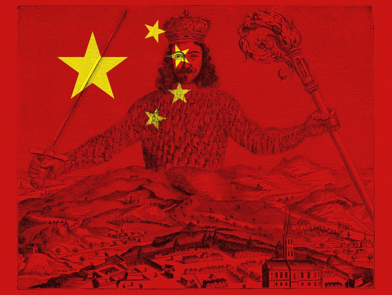 Weltmacht China Illustration