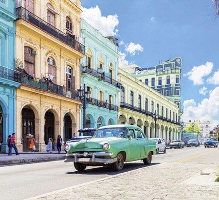 Ein Bild vom sonnigen Havanna