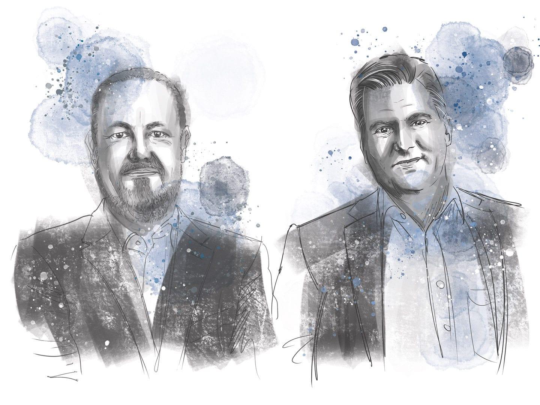 Eine Illustration von Michael Fieg und Thomas Sperrfechter