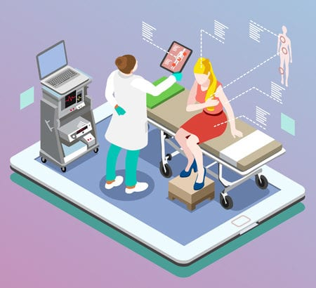 Illustration E-Health Patientenakte