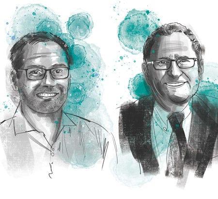 Porträt von Christophe Hocquet und Jorge Marx Gomez