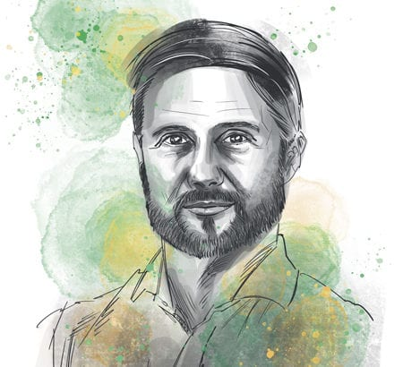 Ein Portrait von Matthias Mehner
