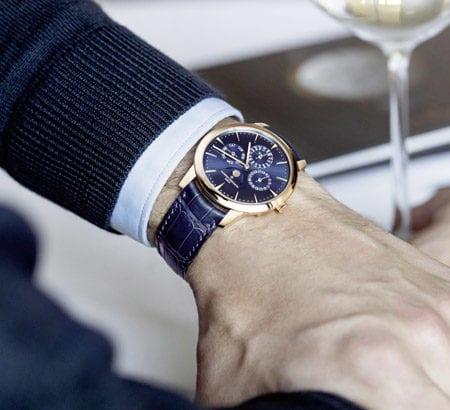 """Bild von der Uhr """"Patrimony Perpetual Calendar Ultra-Thin""""von Vacheron Constantin"""