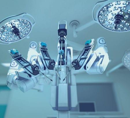 Der Da Vinci Chirurgy Roboter