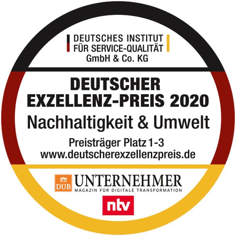 Siegel: buhl-paperform erhält Deutschen Exzellenzpreis