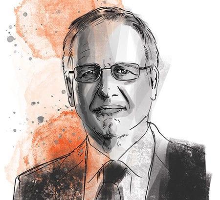 Porträt von Walter Haas