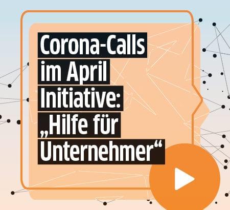 Corona-Calls Initiative von DUB