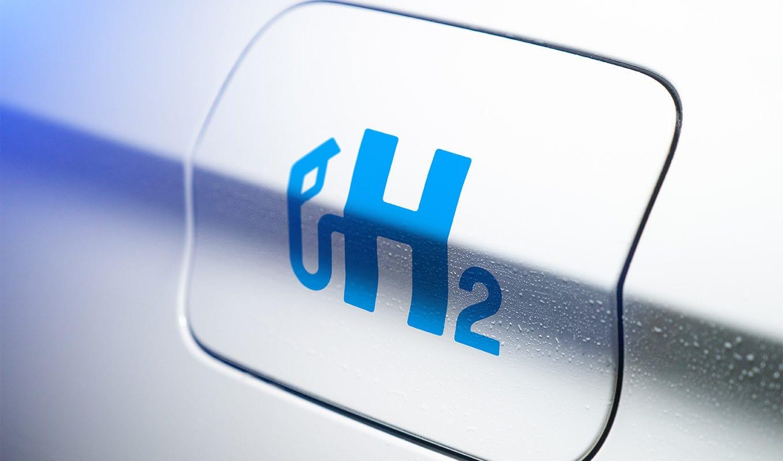 Symbol von Wasserstoff
