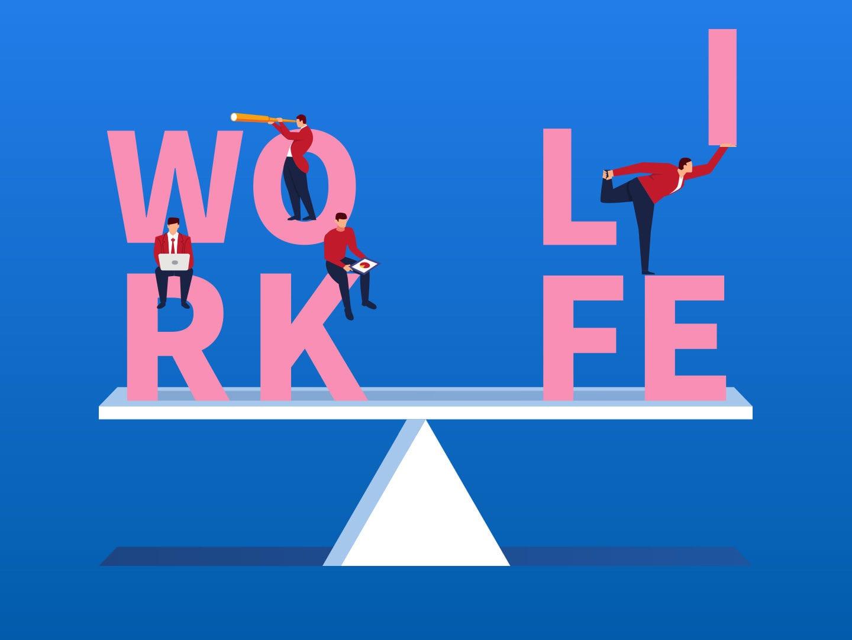 Illustration: Work-Life-Balance