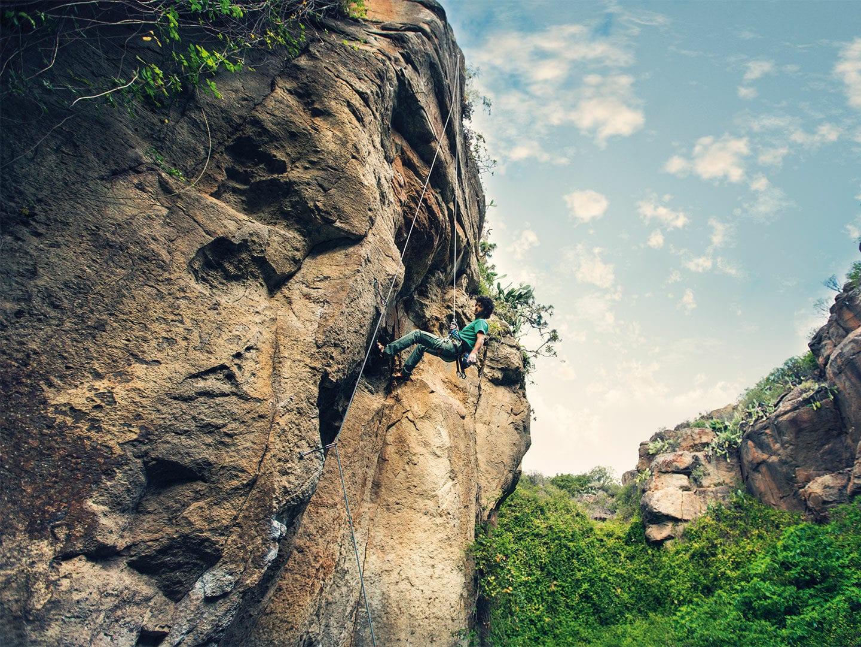 Teneriffa: Climbing
