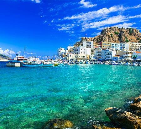 Bucht in Griechenland