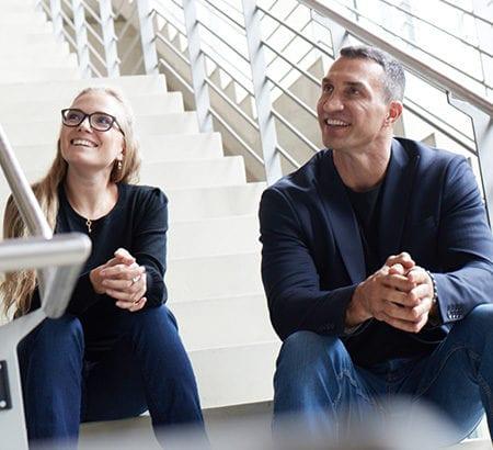Tatjana Kiel und Dr. Wladimir Klitschko