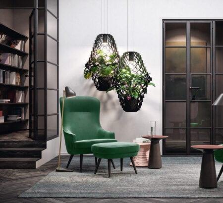 Der Relaxchair der 375-Serie von Walter Knoll