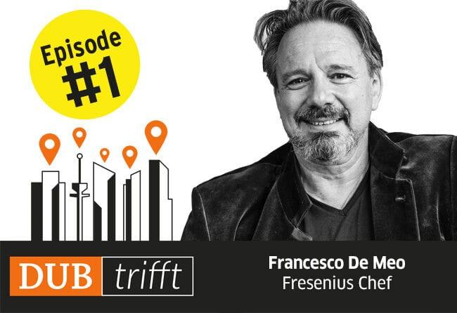 Coverbild für Episode 1 von DUB trifft mit Francesco de Meo
