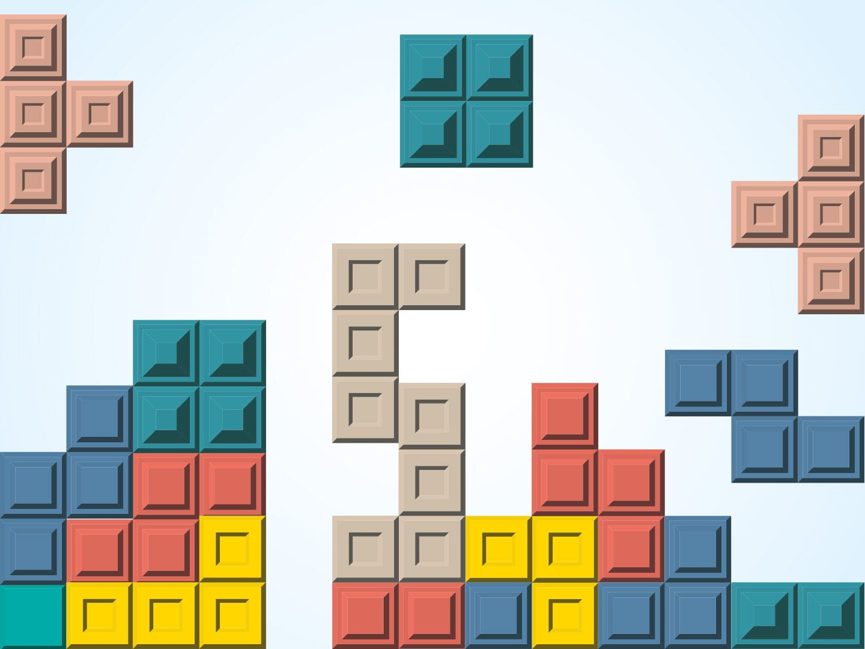 Illustration von Tetris