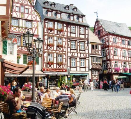 Die Innenstadt von Bernkastel-Kues