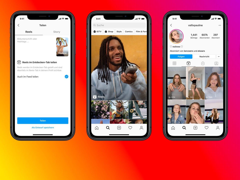Mit Reels für Instagram neue Zielgruppen erschließen