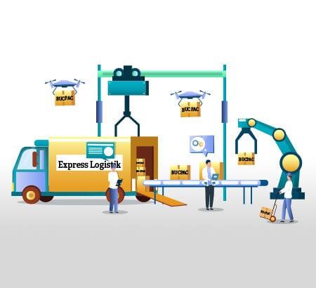 Mit BucPac können Eimer auch Online bestellt und leicht versandt werden