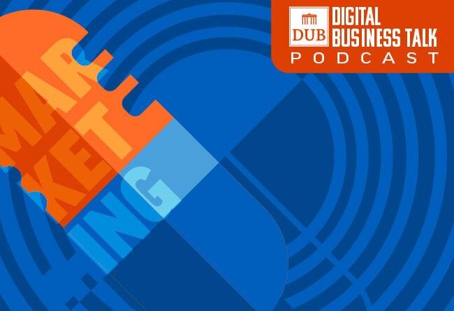 Das Cover vom Digital Business Talk Cover für Leadership