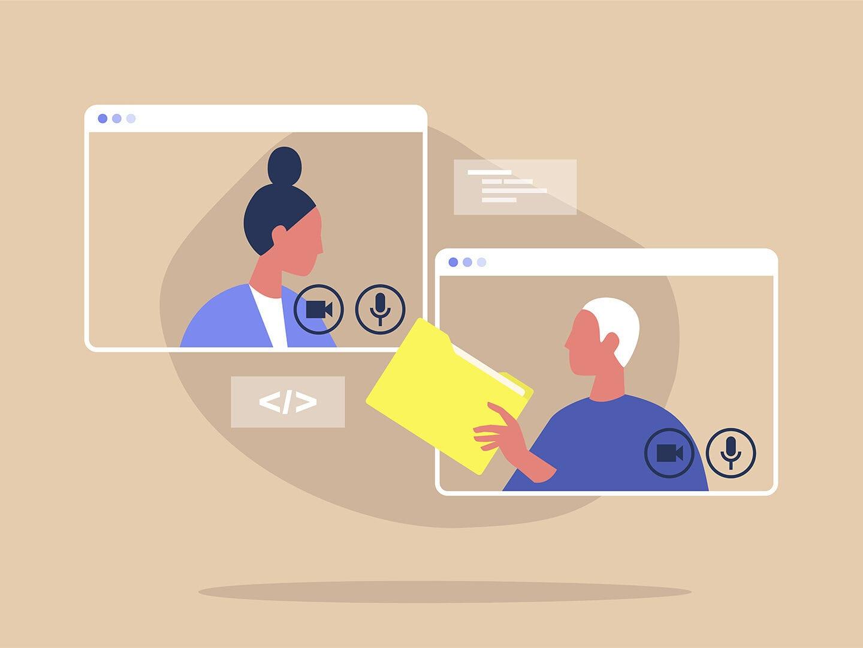 Videokonferenzen sollen bei vielen Unternehmen nach Ende der Krise wieder dem persönlichen Austausch weichen