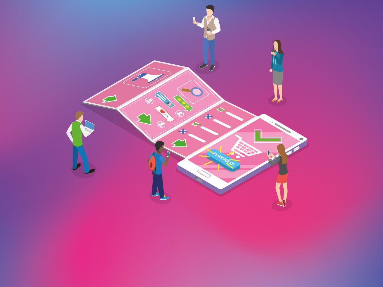 Illustration einer Customer Journey