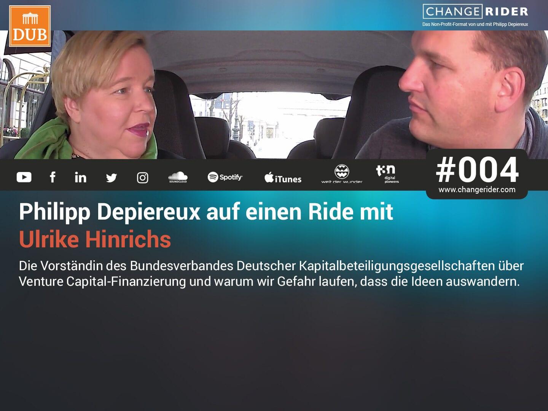 Philipp Depiereux auf einem ChangeRide mit Ulrike Hinrichs