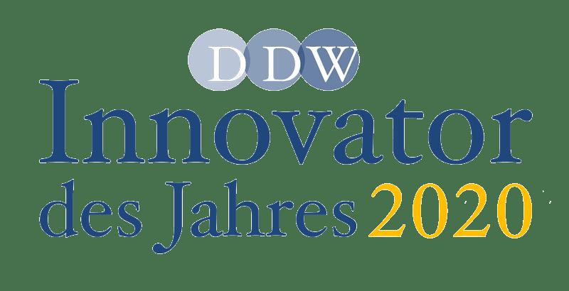 "Logo des Preises ""Innovation des Jahres"""
