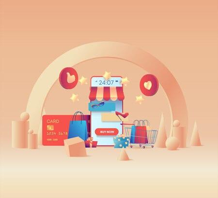 E-Commerce und Online Shopping