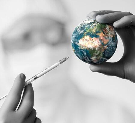 Corona Impfstoff für die Welt