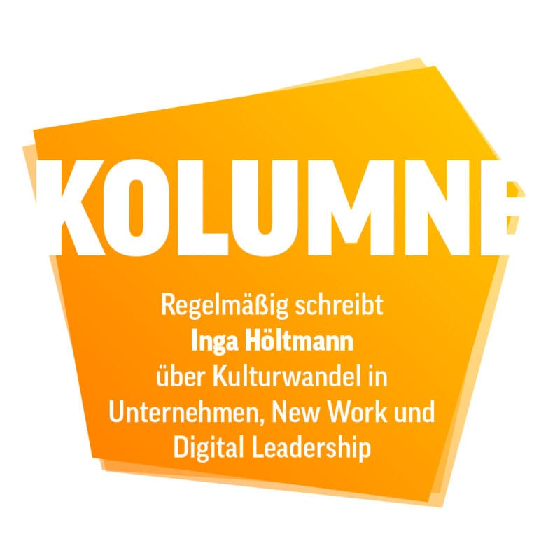 Kolumne von Inga Höltmann