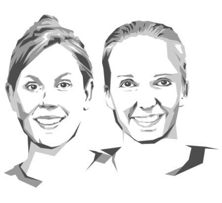 Porträt von Anna Kaiser und Jana Tepe