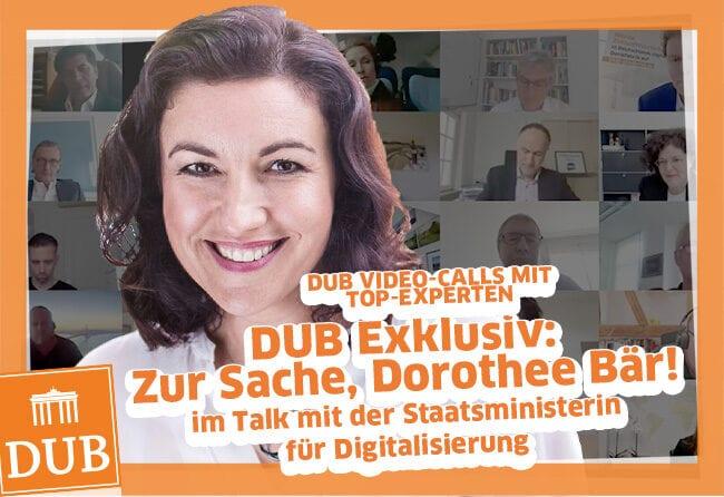 DUB Business Talk Dorothee Bär