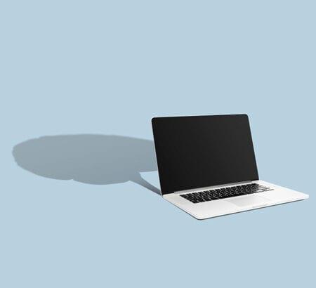 Laptop und Gehirn
