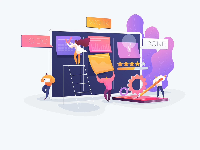 modernen Personalmanagement visualisiert