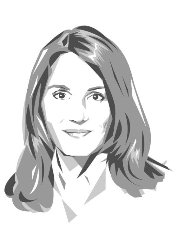 Zeichnung Kolumne Verena Fink
