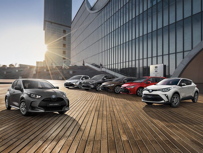 Flotte von Toyota