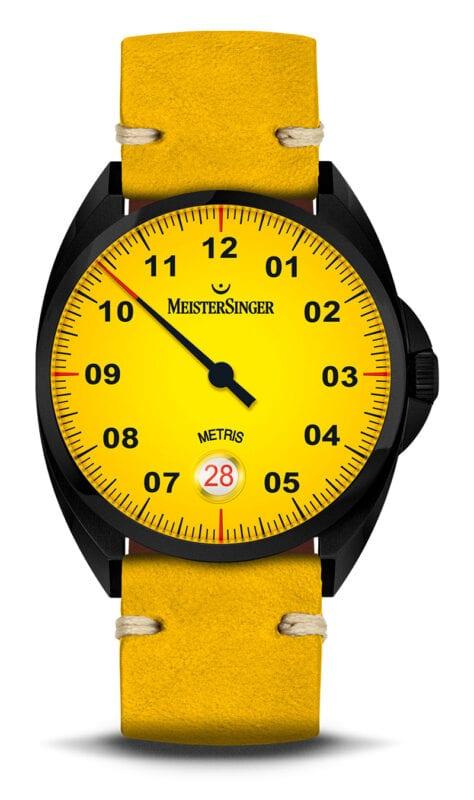 MeisterSinger Metris Mellow Yellow