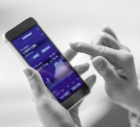 digitale Geldanlage