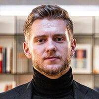 Porträt von Jonas Eisert