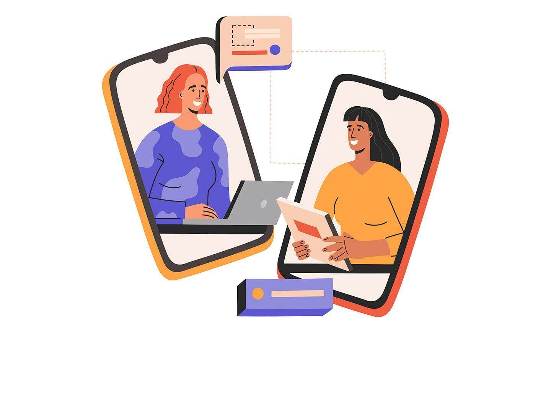 Personalsuche über das Smartphone