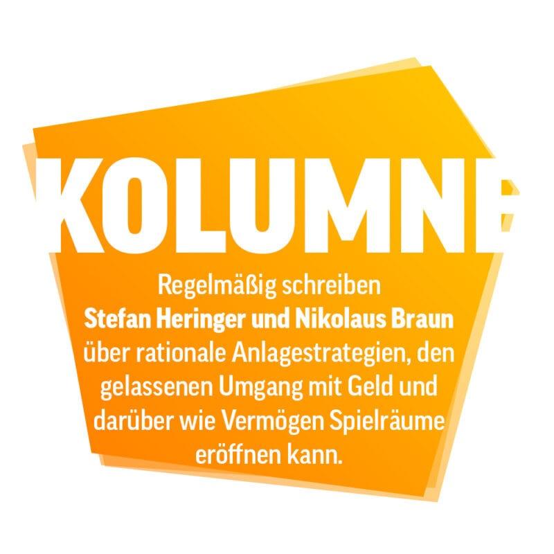 Kolumne Stefan Heringer und Dr. Nikolaus Braun