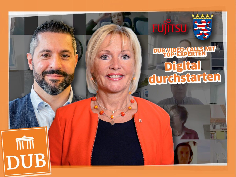 Thumbnail Digital Business Talk mit Prof. Dr. Kristina Sinemus und Juan Perea Rodriguez