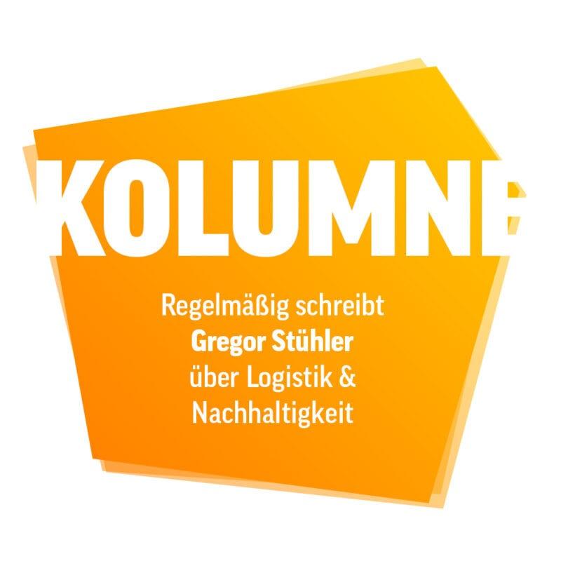 Kolumne von Gregor Stühler