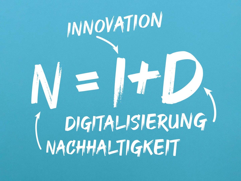 Innovation plus Digitalisierung ergibt Nachhaltigkeit