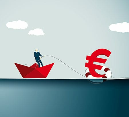 Illustration zum Thema Verlust der Arbeitskraft