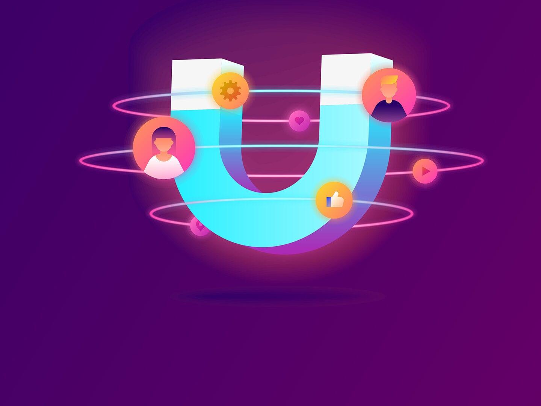 Ein Magnet der Kunden anzieht