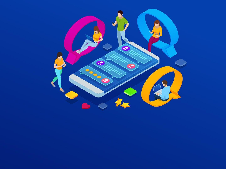 Illustration zum Thema Anwender im Mittelpunkt
