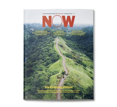 Cover des Magazins NOW von Otto