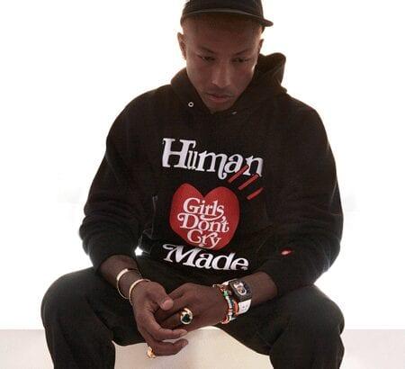 Porträt von Pharrell Williams