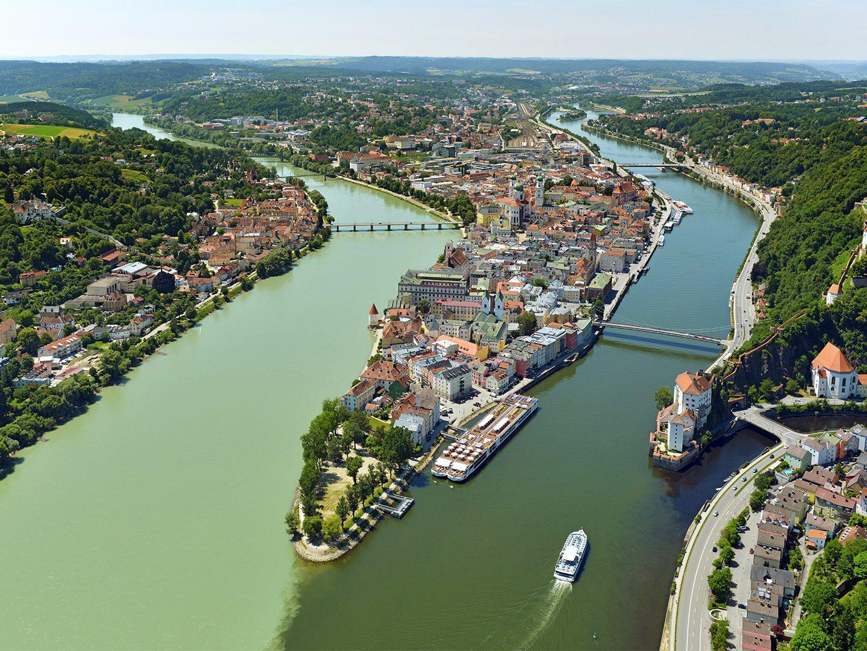 Blick auf Passau